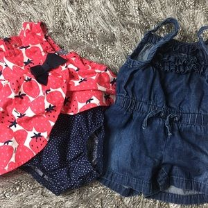 Other - Baby Girl Outfit Bundle